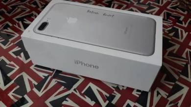 Empty box iphone 7 plus silver 128gb