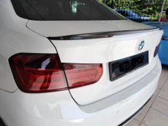 BMW F30 M Sport M Performance Trunk Carbon Spoiler