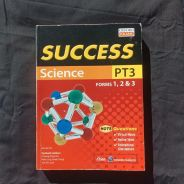 Oxford Fajar SUCCESS Science PT3 Forms 1 , 2 , & 3