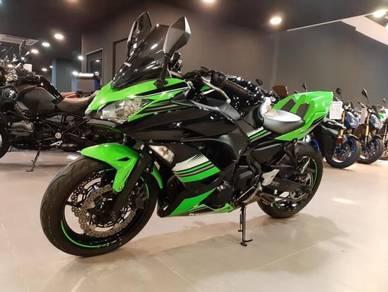 2018 Kawasaki Ninja 650 Se ABS mileage 9k km