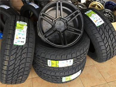 4X4 Package 17Inch ProjectD v Tyre 265-65-17 NEW