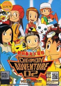 DVD ANIME DIGIMON ADVENTURE 02 Vol.1-50End