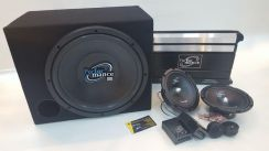 Performance 4 Channel Subwoofer Component Package