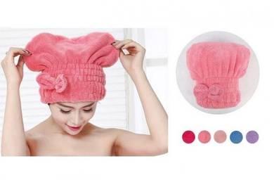 KOREA HighAbsorbent Microfiber Head Dry Hair Towel