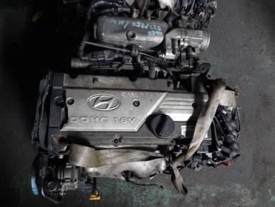 Hyundai Getz 1.4L G4EE Engine with Gearbox
