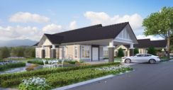 Bungalow [Gated Guarded] single storey, MITC, Ayer Keroh