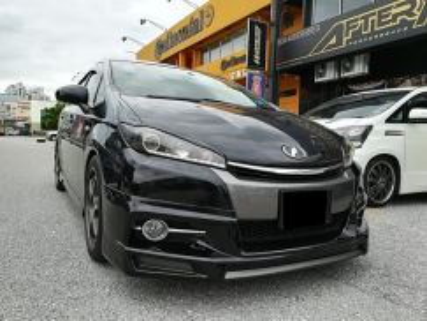 Toyota Wish 2012 Modellista Admiration Bodykit