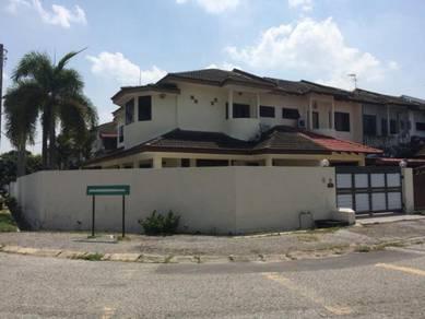 Lindungan Bercham Indah Ipoh Corner Double Storey House