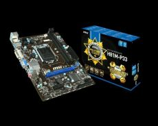MSI military Class4 motherboard + processor