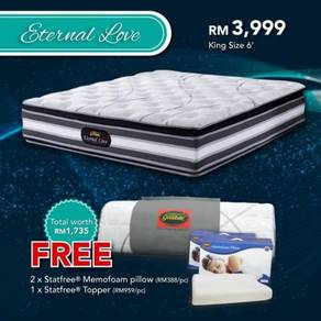 6ft mattress GWGN eternal love value set