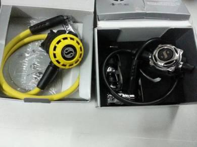Scubapro MK25 EVO A700 + R195 Octopus and reg bag
