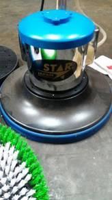 Scrubing machine polisher