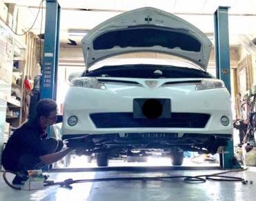 Project U Toyota Estima Vellfire Alphard NS400