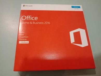 Genuine Microsoft Office Home & Business 2016