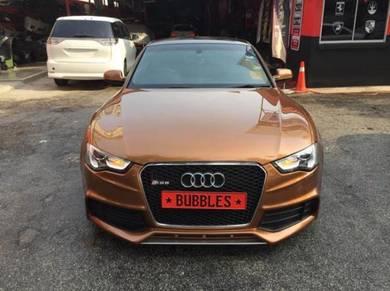 Audi vw PORSCHE full car change colour painting