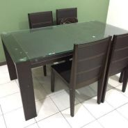 Dining Table with 6 chairs (Lorenzo)