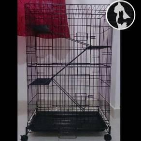 Cat Cage 3lv (Limited Edition) Sangkar Kucing