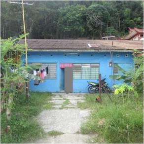 Jalan Batu Sapi, Sandakan, Single storey terraced house