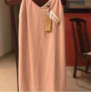 Pinky chifon dress