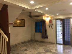Kepong, Menjalara 62B Double Storey Terrace Link House For SALE