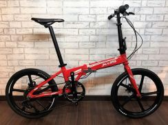 2018 XDS W9 FOLDING Bike 8 SPEED Bicycle 12KG