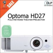 Optoma HD27 DLP 1080p FullHD Home Cinema Projector