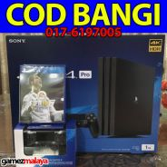 [NEW] PS4 Pro 1TB + FIFA18 + Extra Controller