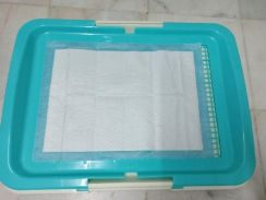 Dog toilet tray (new)