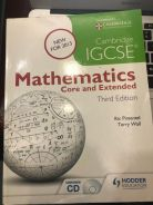 CIE Mathematics Core & Extended