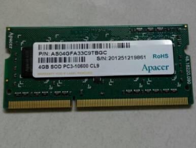 4Gb ddr3 laptop