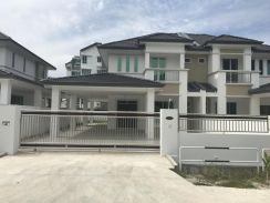 Double Storey Semi Detached at Homelite (Opposite Airport), Miri