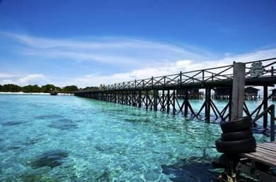 AMI Travel | 2D1N at Pompom Island Villa, Sabah