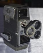 Antique bell & howell usa 8mm movie camera