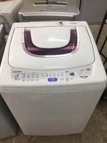 9kg tl toshiba washing machine mesin basuh top