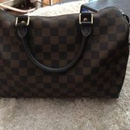 LV speedy 30 original bundle like new .