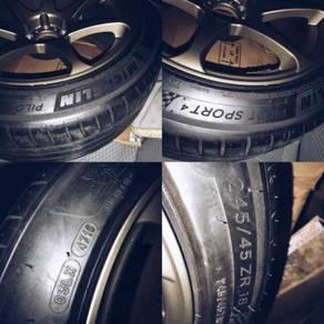 Michelin Pilot Sports 4 Tayar