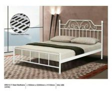 Queen size metal bed frame (M-BR-314)20/06