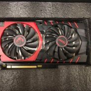 GTX 960 msi gaming 2gb ddr5 used