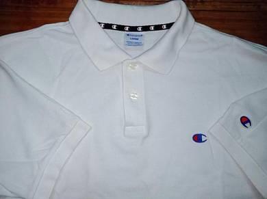Authentic CHAMPION SzL Plain Polo Shirts