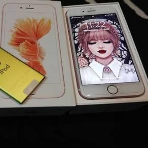 Iphone 6s 64gb rose gold free ipod nano 16gb