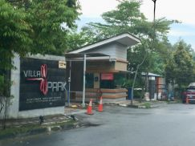 Must view corner unit block b villa park bukt serdang