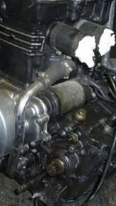 Sebiji injin zzr250 untuk dijual.condisi baik