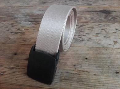 Nylon Camping Tactical Travel Belt Plastic Buckle