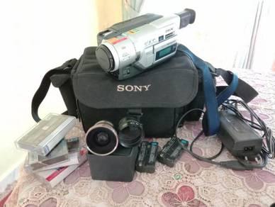 Sony dcr-trv 120e untuk dilepaskan