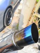Exhaust muffler tip hks (tip top)