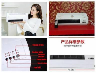 Mini portable fan & heater