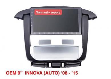 Toyota innova OEM android player (auto aircond)