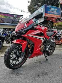 Honda CBR500R ABS 2019 New Model (Ready Stock Now)