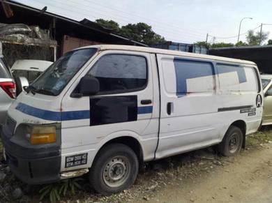 Toyota Hiace 2.5 Diesel 2/ 2003 Panel Van 1 Owner