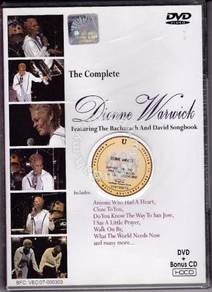 CD + DVD DIONNE WARWICK Bacharach David Songbook